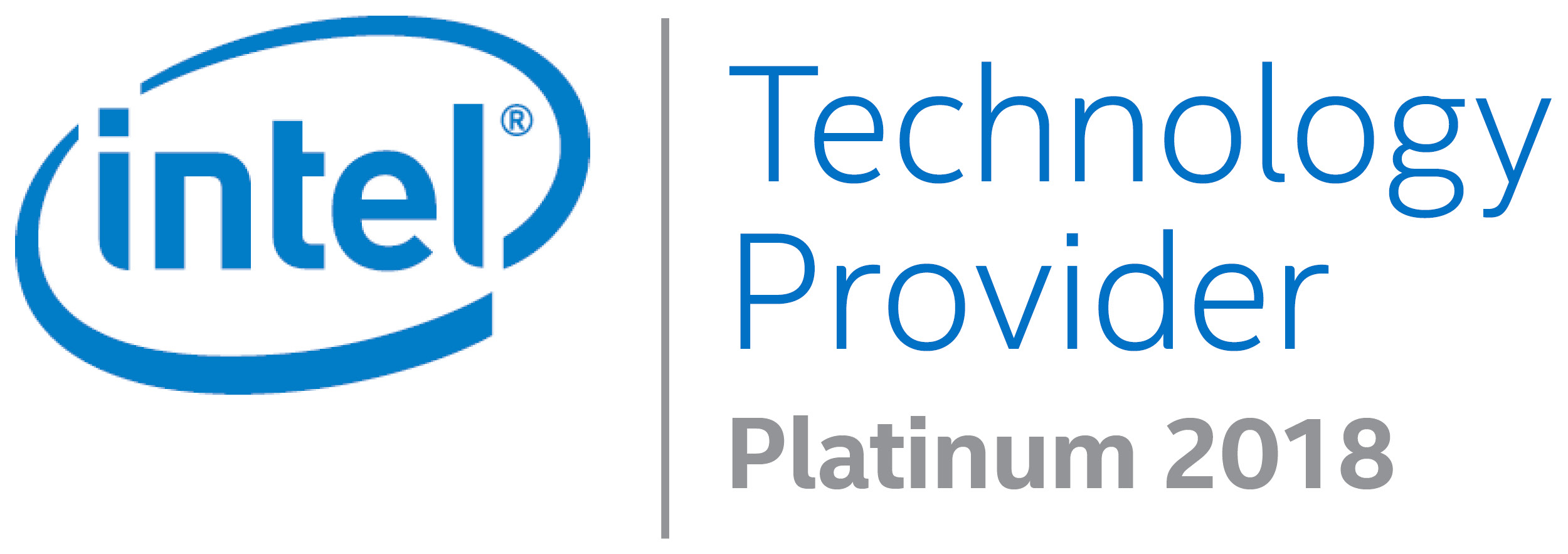 Offical Intel Technology Provider - 2018
